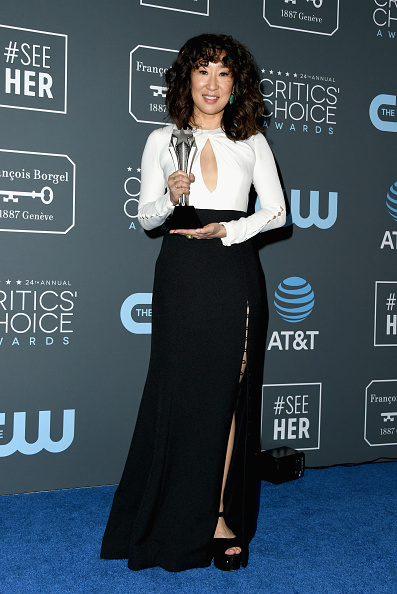 フロアレングス「The 24th Annual Critics' Choice Awards - Press Room」:写真・画像(17)[壁紙.com]