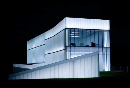 アート「Nelson Atkins Museum of Art, night shot」:スマホ壁紙(5)