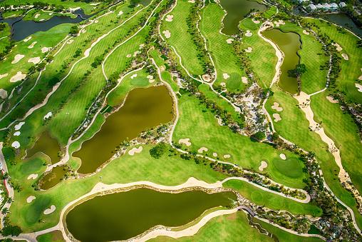 ゴルフ「Florida Golf Course Aerial View」:スマホ壁紙(14)