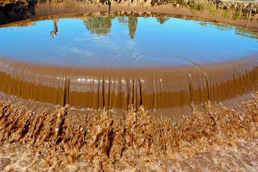 ぬるぬるした「下水ウォータートリートメント」:スマホ壁紙(1)