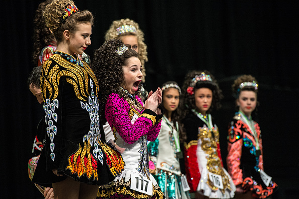 ヒューマンインタレスト「Dancers Compete In The World And European Irish Dancing Championships」:写真・画像(4)[壁紙.com]