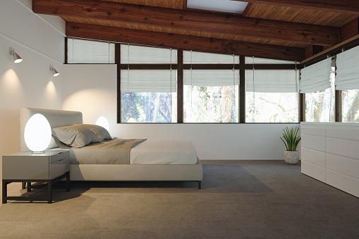 Loft Apartment「Bedroom Interior」:スマホ壁紙(11)