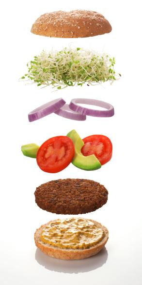 Veggie Burger「The various levels of a veggie burger」:スマホ壁紙(17)