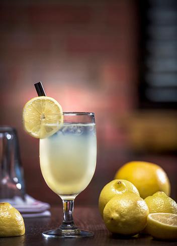 Lemon Soda「Homemade lemonade / Studio shot (Click for more)」:スマホ壁紙(2)