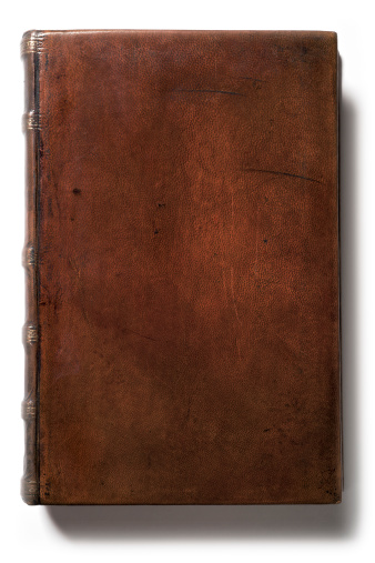 Hardcover Book「Antique Blank Leather Book」:スマホ壁紙(1)
