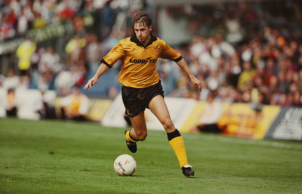 Clive Brunskill「David Kelly Wolverhampton Wanderers 1993」:写真・画像(8)[壁紙.com]