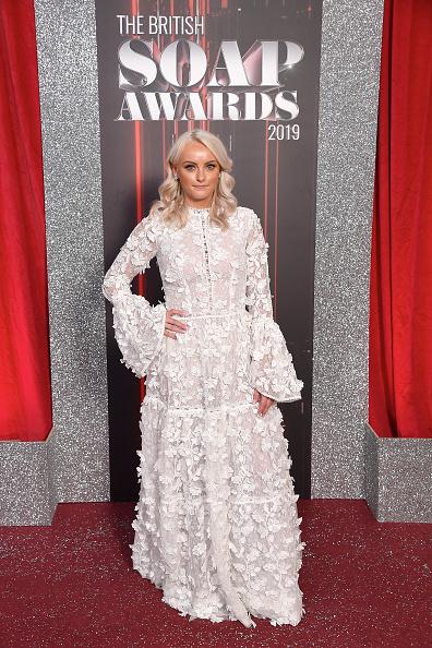 Appliqué「The British Soap Awards 2019 - Red Carpet Arrivals」:写真・画像(7)[壁紙.com]