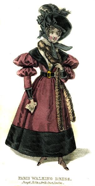 Coat - Garment「Paris walking dress from 1830」:写真・画像(14)[壁紙.com]