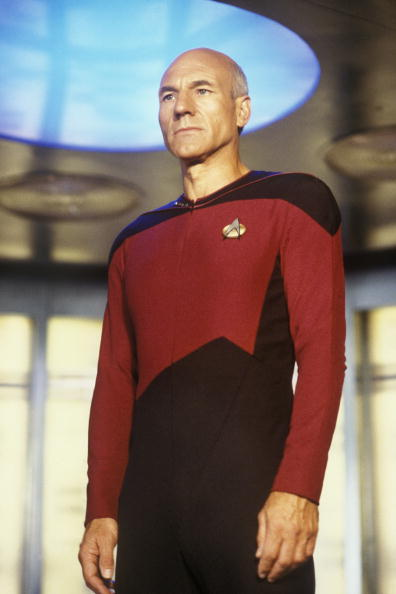 Star Trek「Patrick Stewart of Star Trek: The Next Generation」:写真・画像(0)[壁紙.com]