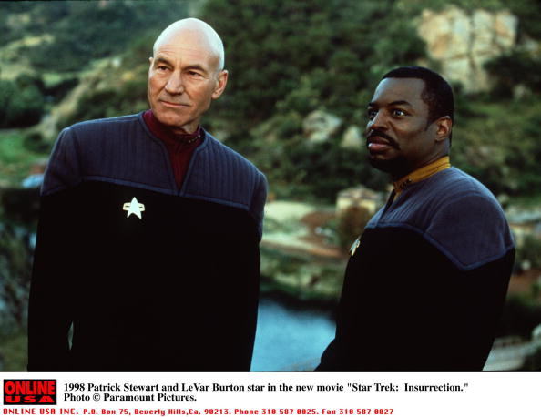 Star Trek「Patrick Stewart And Levar Burton Star In The New Movie Star Trek: Insurrection」:写真・画像(3)[壁紙.com]