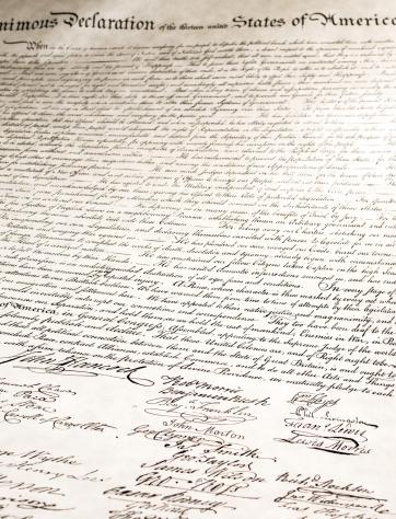 Historical Document「Signatures on Declaration of Independence」:スマホ壁紙(14)