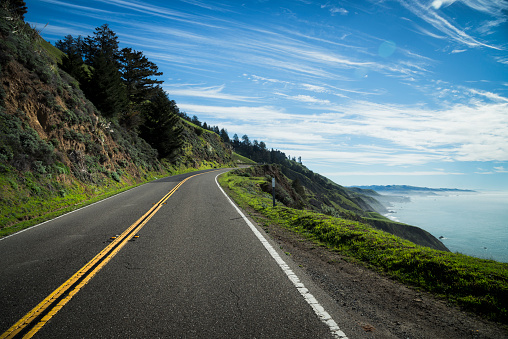 Beauty In Nature「USA, California, Coast at Highway 1」:スマホ壁紙(12)