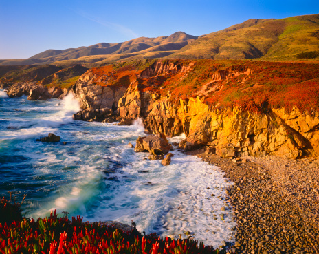 Big Sur「California Coastline  (P)」:スマホ壁紙(9)