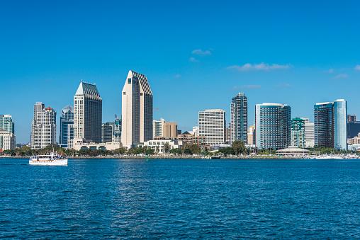 San Diego「USA, California, San Diego, Skyline」:スマホ壁紙(19)