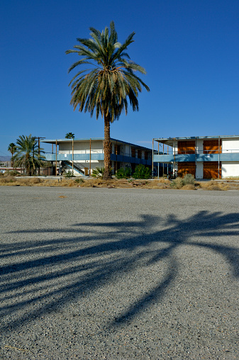 Motel「USA, California, Salton Sea, North Shore, derelict motel」:スマホ壁紙(7)