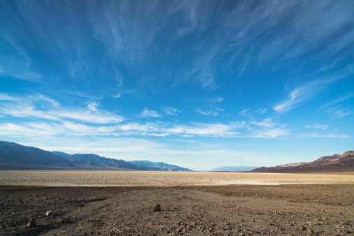 Depression - Land Feature「USA, California, Death Valley, Desert landscape」:スマホ壁紙(1)
