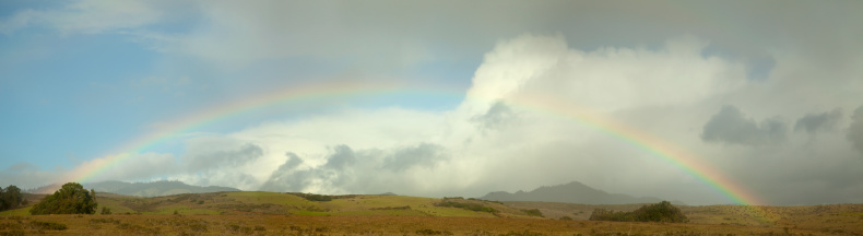 Rainbow Arch「California Rainbow Panorama」:スマホ壁紙(17)