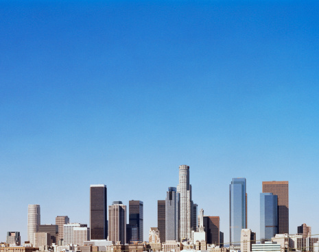 City Of Los Angeles「USA, California, Los Angeles skyline」:スマホ壁紙(12)