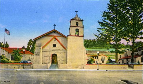 18th Century Style「California: Mission San Buenaventura, Ventura」:写真・画像(15)[壁紙.com]