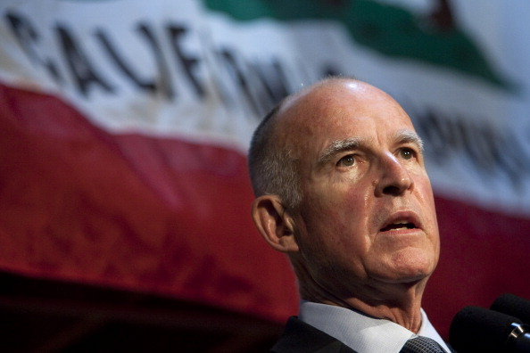 Governor「Jerry Brown Holds News Conference Day After Election」:写真・画像(17)[壁紙.com]