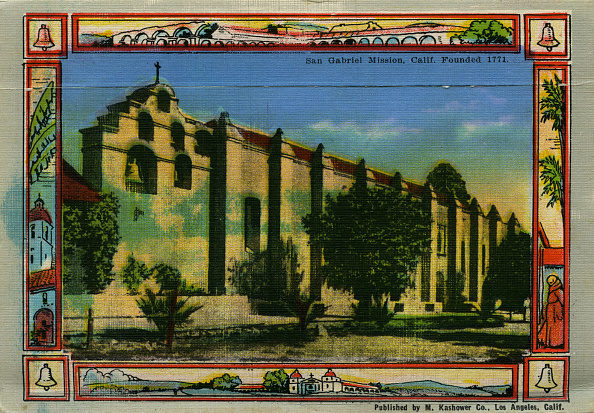 City Life「California: San Gabriel Mission」:写真・画像(8)[壁紙.com]