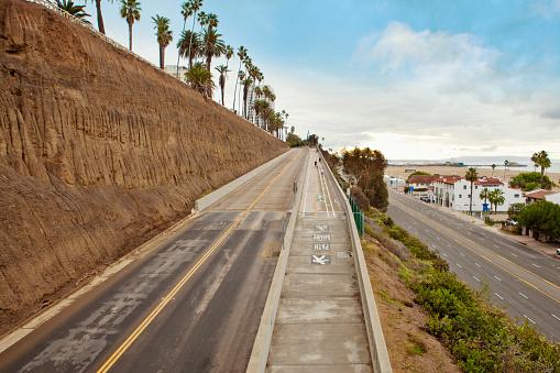 California State Route 1「California Incline: Santa Monica, California」:スマホ壁紙(1)