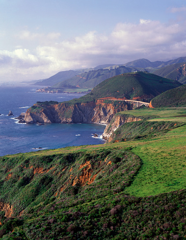 Bixby Creek Bridge「USA, California, Big Sur Coast」:スマホ壁紙(16)