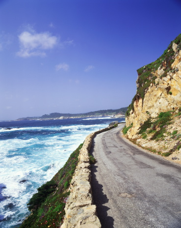 Big Sur「USA, California, Big Sur, coastal road」:スマホ壁紙(9)