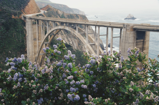 Bixby Creek Bridge「USA, California, Bixby Bridge crossing over Big Sur coastline」:スマホ壁紙(16)