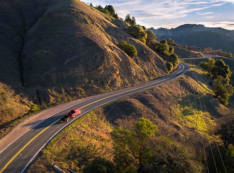 California State Route 1「USA, California, Orr Springs Road」:スマホ壁紙(9)