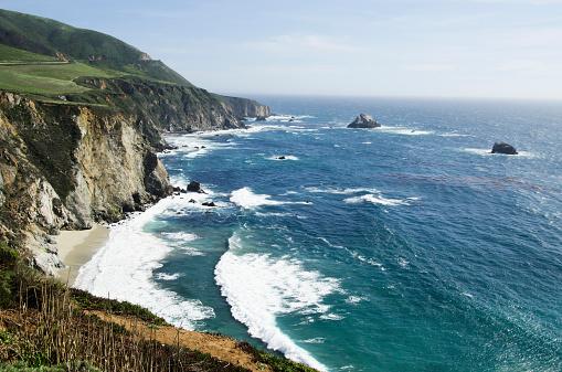 Big Sur「USA, California, Monterey, Big Sur, Tranquil seaside」:スマホ壁紙(1)