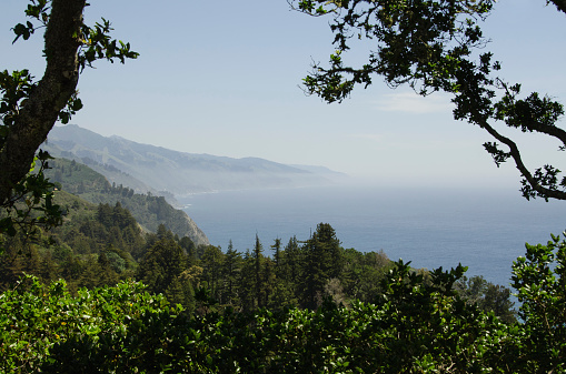 Big Sur「USA, California, Monterey, Big Sur, Tranquil coastline view」:スマホ壁紙(2)