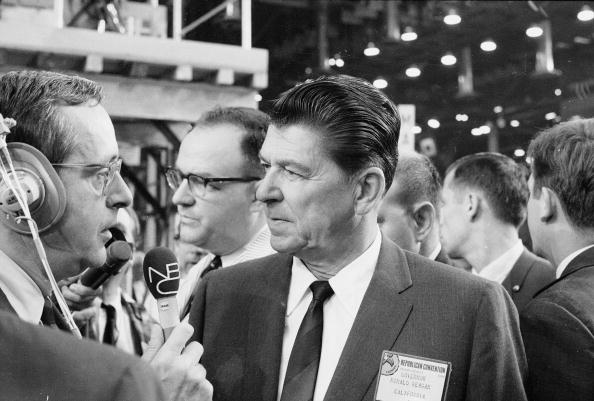 Governor「Ronald Reagan Interviewed At Republican Convention, FL, 1968.」:写真・画像(18)[壁紙.com]