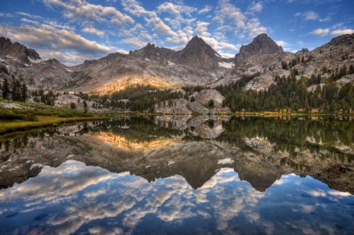 インヨー国有林「米国カリフォルニア州、インヨー国立森林公園、バナーピーク」:スマホ壁紙(4)