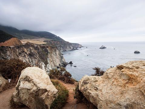 Big Sur「USA, California, Pacific Coast, National Scenic Byway, Big Sur Coastline」:スマホ壁紙(11)