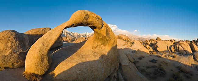 インヨー国有林「カリフォルニアの黄金の夜明け」:スマホ壁紙(5)