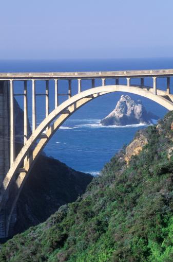 Bixby Creek Bridge「USA, California, Bixby Bridge in Big Sur」:スマホ壁紙(16)