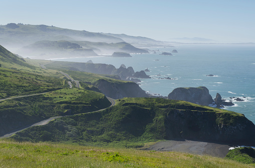 California State Route 1「California Highway 1 Sonoma Coast」:スマホ壁紙(2)