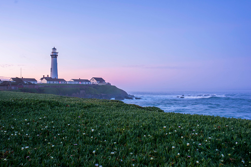 California State Route 1「California coast with Pigeon Point Lighthouse」:スマホ壁紙(12)
