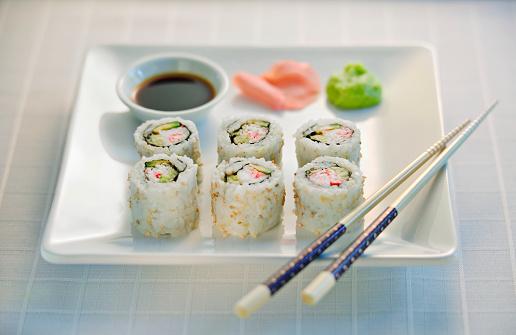 Soy Sauce「California Sushi Rolls」:スマホ壁紙(12)