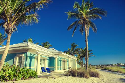 豪華 ビーチ「ホテルのビーチ」:スマホ壁紙(11)