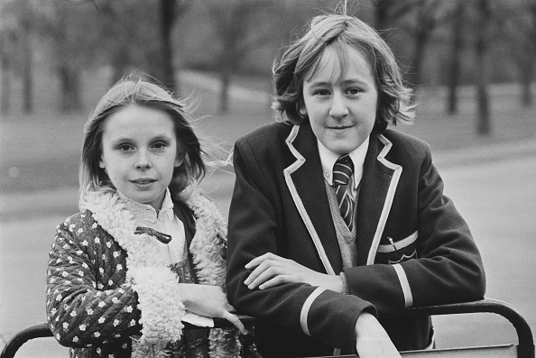 Children Only「Annabelle Lanyon with Nicholas Lyndhurst」:写真・画像(7)[壁紙.com]
