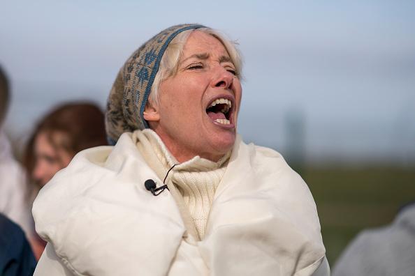 Shale「Anti-Fracking Demonstrators March In Blackpool」:写真・画像(7)[壁紙.com]