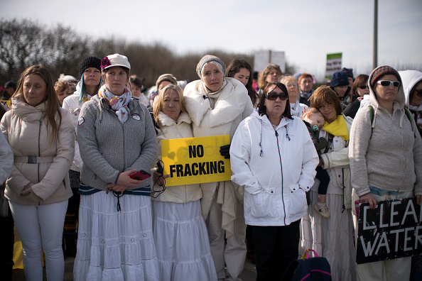 Shale「Anti-Fracking Demonstrators March In Blackpool」:写真・画像(8)[壁紙.com]