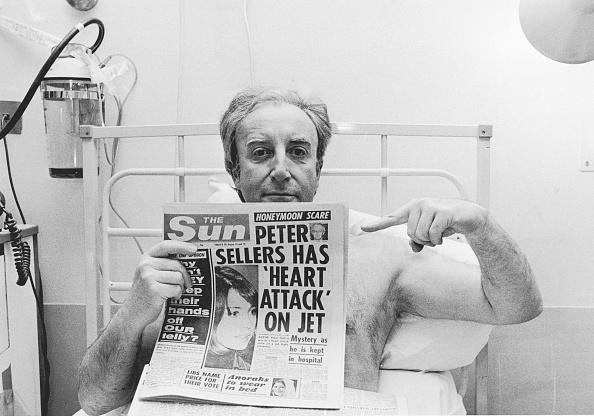 Peter Sellers - Actor「Sellers In Hospital」:写真・画像(12)[壁紙.com]