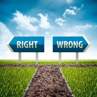 Evil「right and wrong evil crossroad」:スマホ壁紙(2)