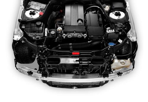 ハイブリッドカー「オープン車のエンジンを示すボネ」:スマホ壁紙(4)