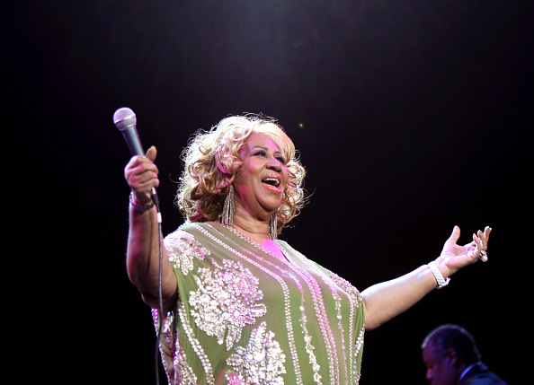 Neilson Barnard「Aretha Franklin In Concert」:写真・画像(5)[壁紙.com]