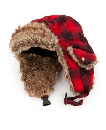 タータンチェック「暖かい冬の帽子」:スマホ壁紙(3)