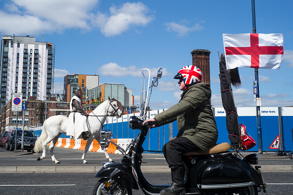 Patriotism「St George's Day Parade In Manchester」:写真・画像(8)[壁紙.com]